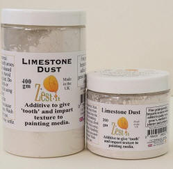 limestone dust for cold wax