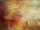turner; oil paint on paper